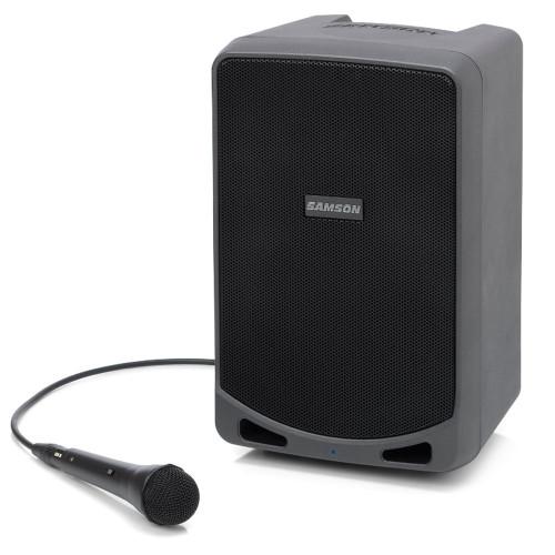 Samson XP106 100-Watt Rechargable Bluetooth Speaker with Wired Microphone