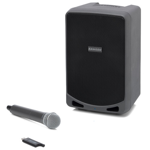 Samson XP106w 100-Watt Rechargeable Bluetooth Speaker with Wireless Microphone