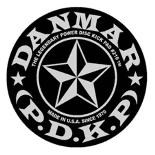Danmar Metal Kick Bass Drum Disc