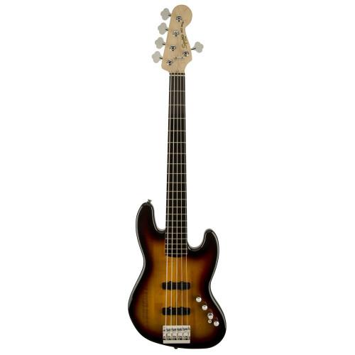 Squier Deluxe Jazz V Active Bass - Sunburst