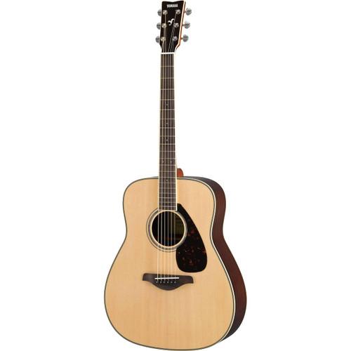 Yamaha FG830 Solid-Top Dreadnought Acoustic Guitar