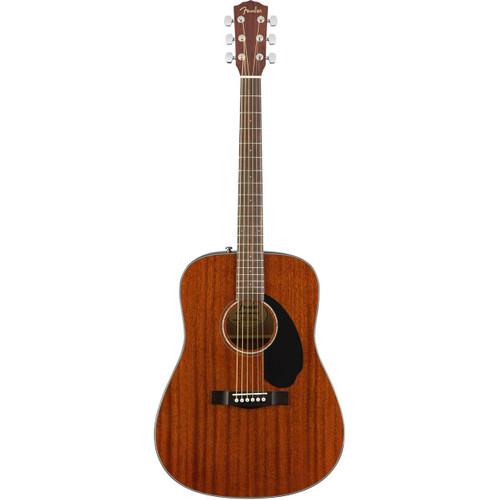 Fender CD-60S Dreadnought Solid-Top Acoustic Guitar - Mahogany