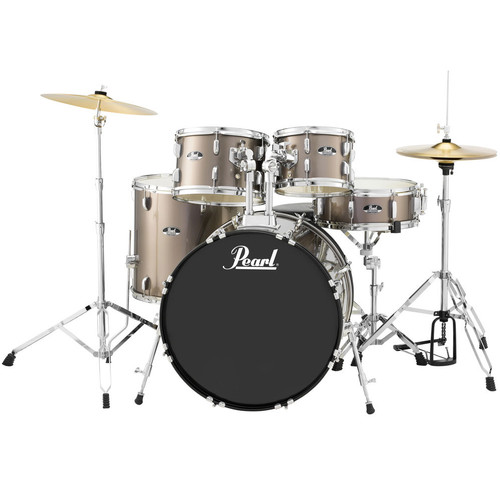 Pearl Roadshow RS525SC/C 5-Piece Drum Set - Bronze Metallic