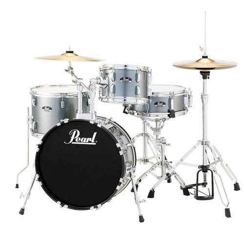 Pearl Roadshow RS584C/C 4-Piece Drum Set - Charcoal Metallic