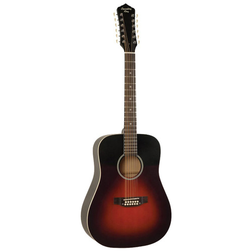 Recording King 12-String Solid-Top Acoustic Guitar