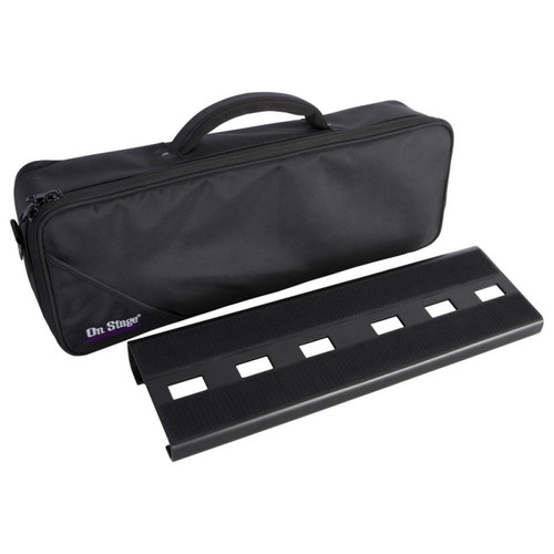 On-Stage GPB2000 Compact Pedal Board with Gig Bag