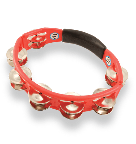 LP Cyclops Hand Held Tambourine - Red