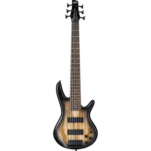 Ibanez GSR206SM 6-String Bass - Natural Grey Burst