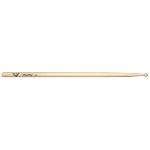 Vater Manhattan 7A Hickory Drumsticks - Wood Tip