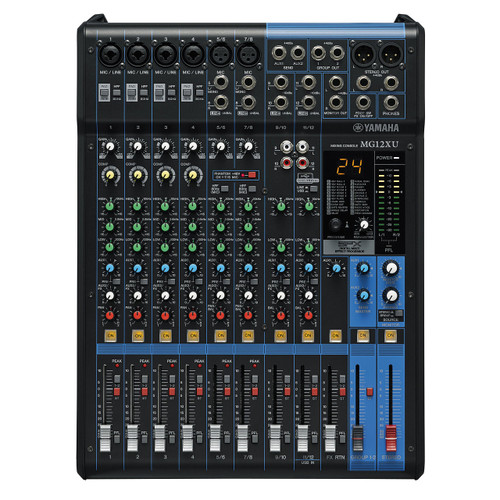 Yamaha MG12XU Mixer with Effects & USB