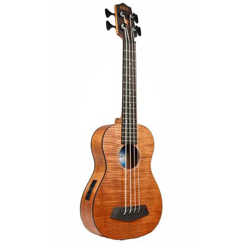 Kala U-Bass Exotic Mahogany with Roundwound Strings