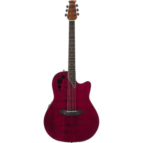 Applause AE44II Elite Mid-Depth Acoustic - Ruby Red