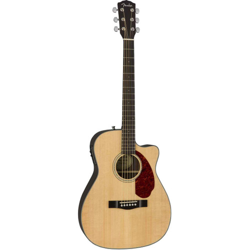 Fender CC-140SCE with Hardshell Case - Natural