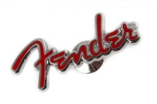 Fender Red Logo Pin