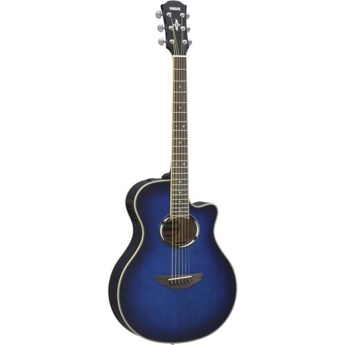 Yamaha APX500III Thinline Acoustic/Electric - Oriental Blue Burst