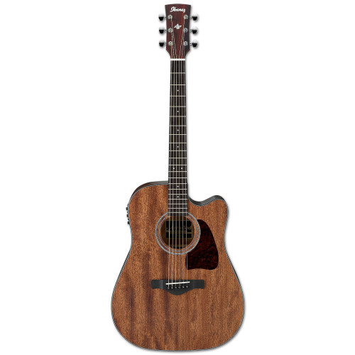 Ibanez Solid-Top Mahogany Acoustic/Electric Guitar
