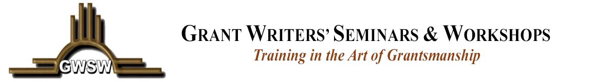 Grant Writers Seminars & Workshops