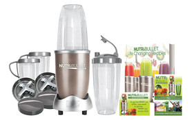 NutriBullet Pro Infusion 900w Nutrition Extractor. New 9 Piece Set