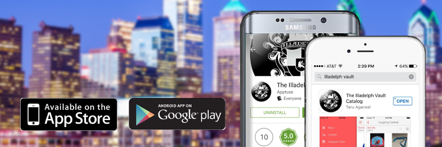 New Illadelph Vault App for iPhone and Android