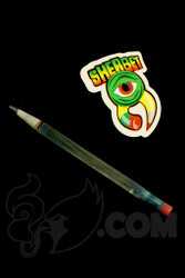 Sherbet Glass - Glass Pencil Dabber Bluv with Grey Tip on Black