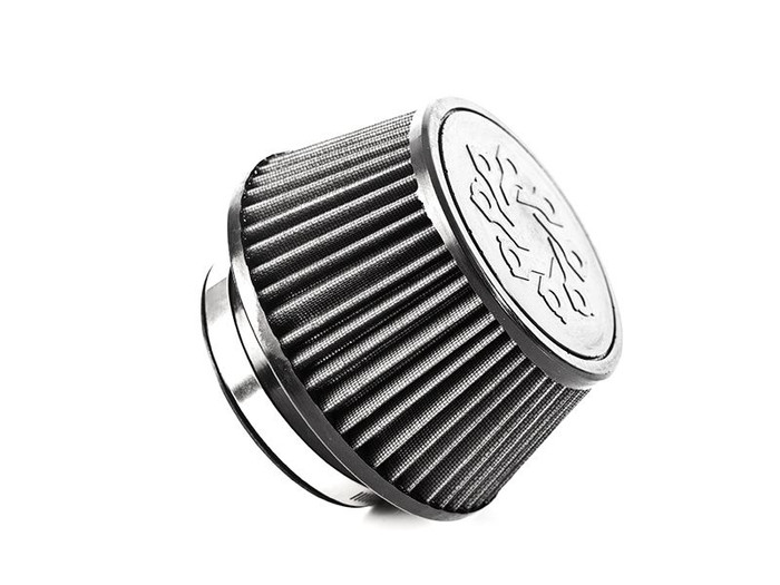 """IE 4"""" Inlet Low Profile Cone Air Filter"""