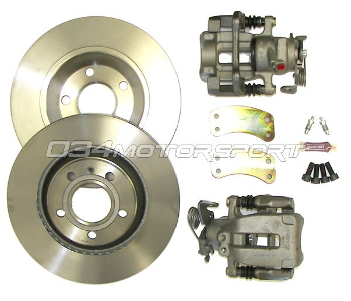 034 Big Brake Kit, B5 Audi A4/S4 & C5 Audi A6/S6/Allroad Rear, 300mm Rotor Upgrade