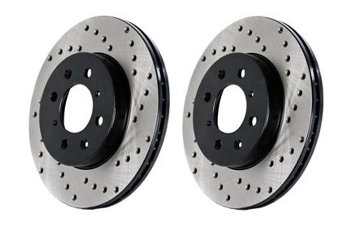 StopTech Drilled Sportstop Rotor - Front Left