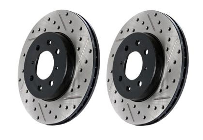 StopTech Drilled & Slotted Sportstop Rotor - Front Left