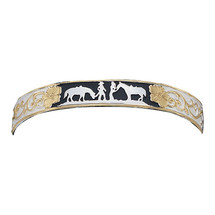 Between Friends Cuff Bracelet with Black Accents