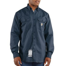 Carhartt FR Twill Shirt - Dark Navy