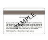 Keddie's Gift Card (Sample Back)