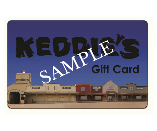 Keddie's Gift Card - Store Design (Sample Front)