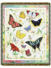 American Butterflies Tapestry Throw 10410
