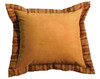 Autumn Leaf Auburn Fabric Alternate Eurosham WD-822 – Pillow NOT Included