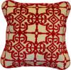 Denali Moroccan/Garnet Microplush Pillow or Blanket
