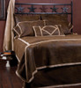 Wyoming Faux Suede and Shearling Bedding Set