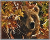 Legend of the Fall Bear Tapestry Throw PC-4832-T