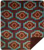 Aztec Brown/Sable #244 50x60 Inch Throw Blanket