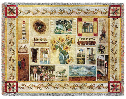 American Country Tapestry Throw PC2348-T