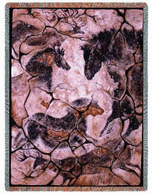 Ancient Hall Horse Tapestry Throw PC1910T