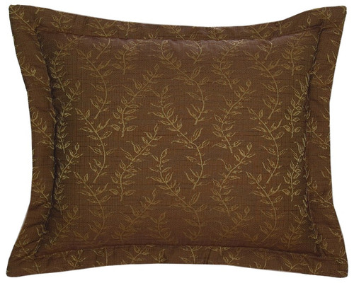 Autumn Leaf Marisol Fabric Eurosham WD-944 - Pillow NOT Included