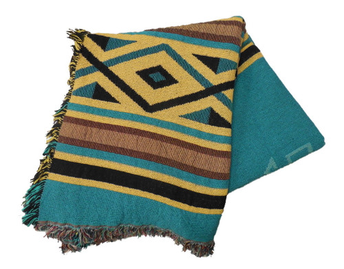 Desert Rain Tapestry Throw Blanket