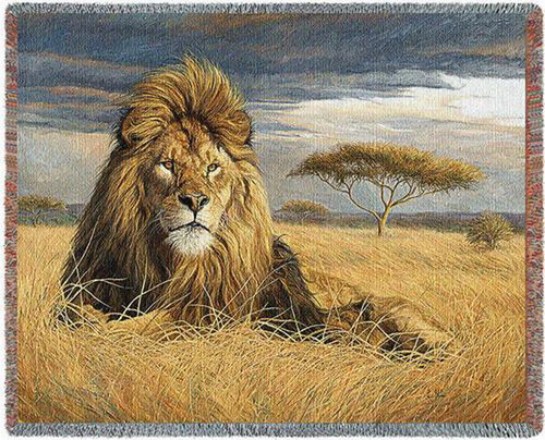 King of The Pride Lion Throw PC4742-T