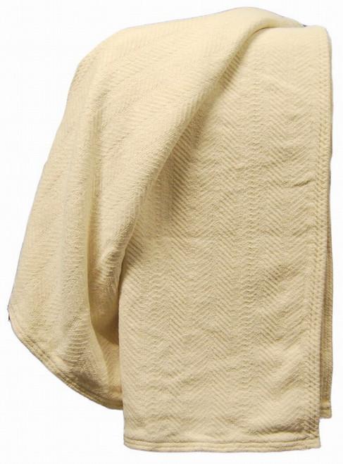 Organic Cotton Chenille Crib Blanket