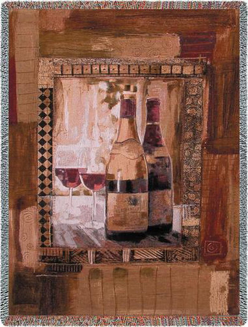 Perfect Vintage Wine Tapestry Throw PC1503-T