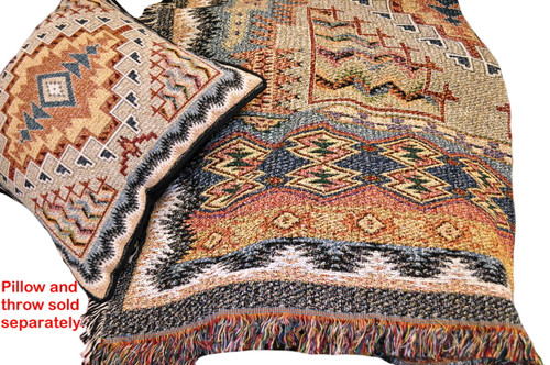 Southwest Tapestry Throw by Pure Country Weavers