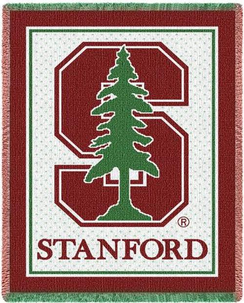 Stanford University Stadium Throw Blanket (48x69 Inches)