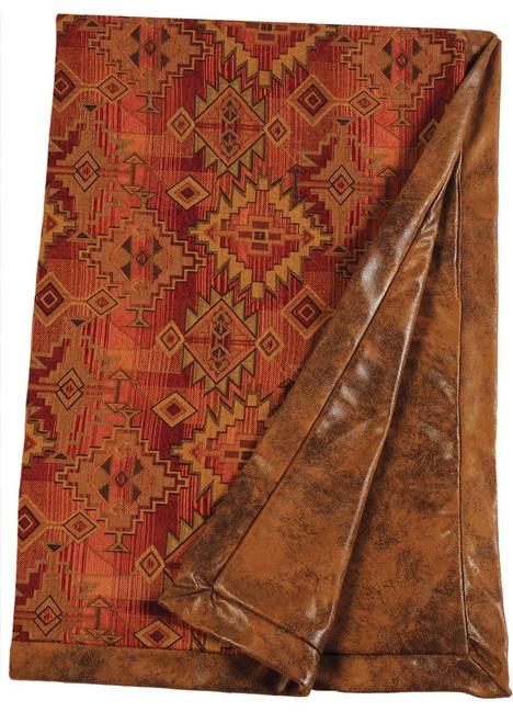 Wooded River Bessie Gulch Throw Blanket