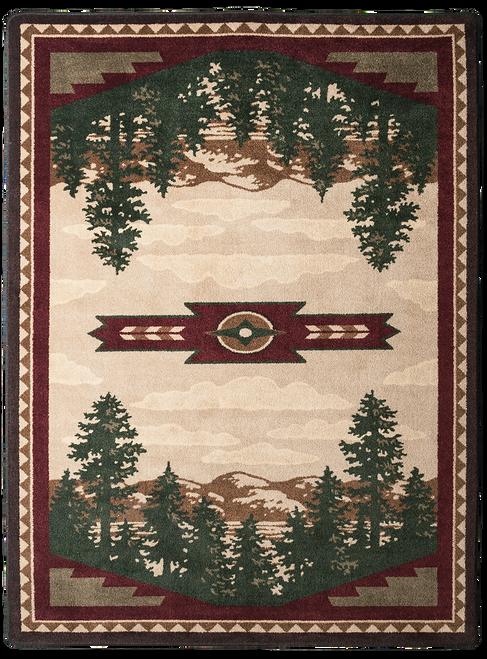 "Autumn Point 3x4 Rug by American Dakota (2'8"" x 3'11"")"