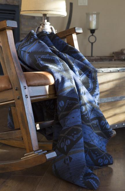 Night Sky Southwest Design Throw Blanket
